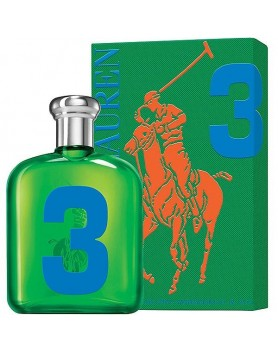 RALPH LAUREN POLO BIG PONY 3 - 125 ml