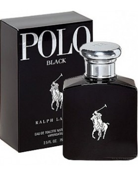 RALPH LAUREN POLO BLACK 4.2OZ EDT SPRAY - 125 ml