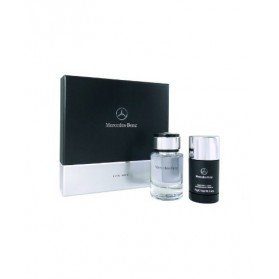 MERCEDES BENZ GIFT PACKAGE (FOR MEN EDT 75ML + DEODORANT STICK)